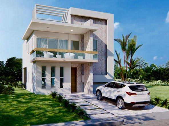 Villa Moderna Tipo 1 en Perla Marina