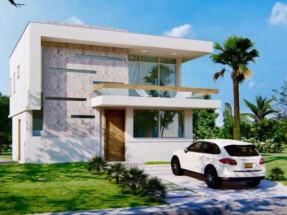 Villa Moderna Tipo 2 en Urb. Perla Marina, Cabarete, Puerto Plata, República Dominicana.